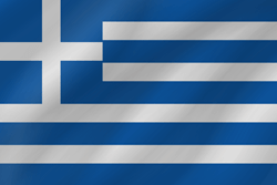 Greece flag vector - free download