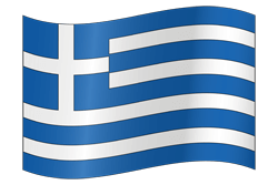 Flag of Greece - Waving