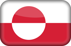 Flag of Greenland - 3D