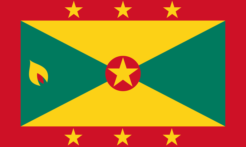 Grenada flag package