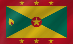 Flag of Grenada - Wave
