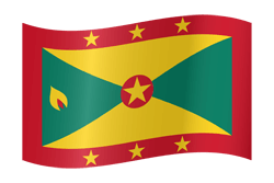 Flag of Grenada - Waving
