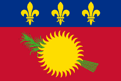 Flag of Guadeloupe - Original