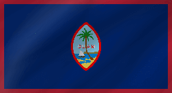 Drapeau de Guam - Vague