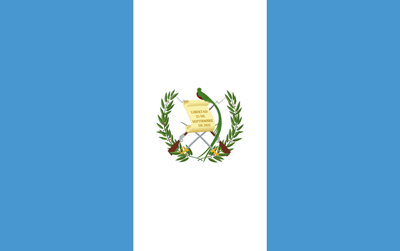 Flagge von Guatemala Vektor - Gratis Download