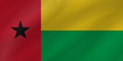 Flag of Guinea-Bissau - Wave