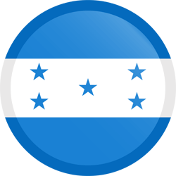 Honduras flag icon - free download