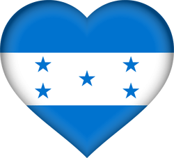 Honduras flag vector - free download