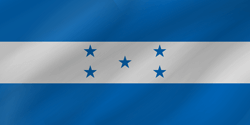 Drapeau du Honduras - Vague