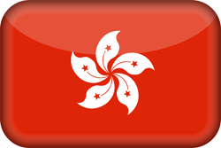 Flag of Hong Kong - 3D