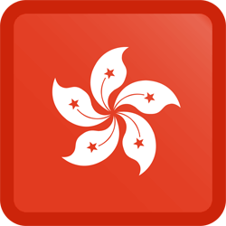 Hongkong vlag icon - gratis downloaden