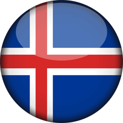 IJsland vlag icon - gratis downloaden