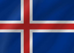 Flagge von Island Icon - Gratis Download