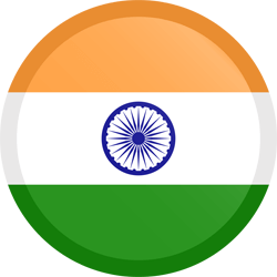 Flag of India - Button Round