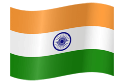 Flag of India - Waving