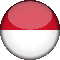 Flagge von Indonesien Icon - Gratis Download