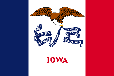 Drapeau de l'Iowa - Original
