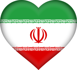 Iran vlag vector - gratis downloaden