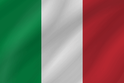 Flag of Italy - Wave