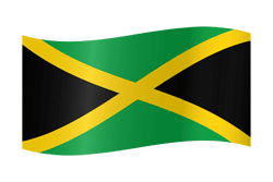 Flag of Jamaica - Waving