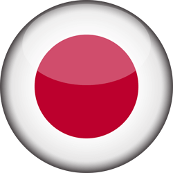 Japan flag vector - free download