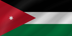 Flagge von Jordanien Bild - Gratis Download