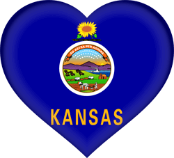 Kansas flag image - free download