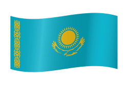 Kazakhstan flag icon - free download