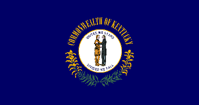 Flagge von Kentucky - Original