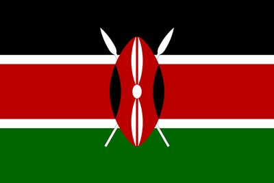 Kenya flag icon - free download