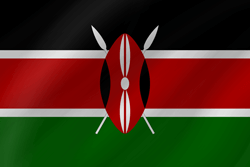 Flag of Kenya - Wave