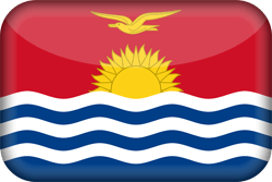 Kiribati vlag vector - gratis downloaden