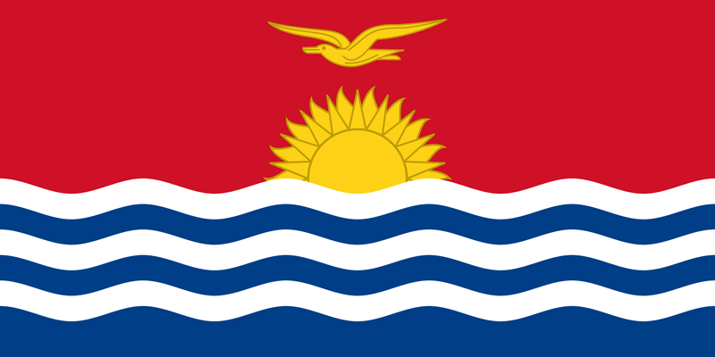 Kiribati flag package