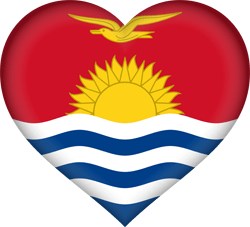 Flagge von Kiribati Bild - Gratis Download