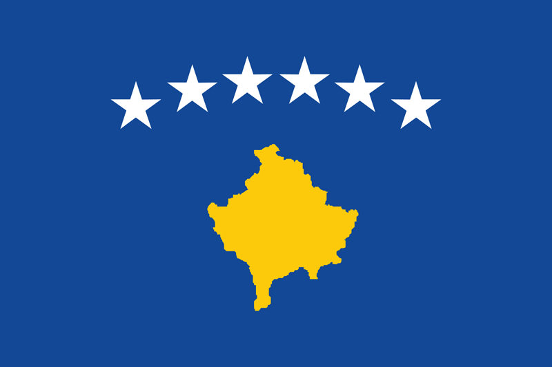 Flag Of Kosovo Image And Meaning Kosovo Flag Country Flags