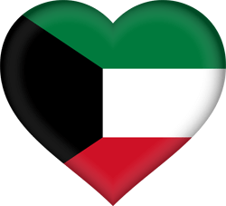 Kuwait flag vector - free download