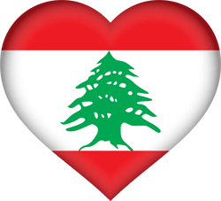 Flagge des Libanon Vektor - Gratis Download