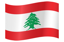 Flagge des Libanon Icon - Gratis Download
