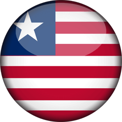 Liberia vlag vector - gratis downloaden