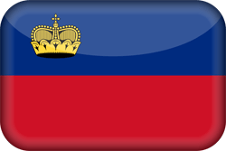 Liechtenstein vlag vector - gratis downloaden