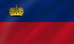Flagge von Liechtenstein Clipart - Gratis Download