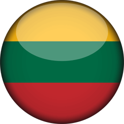 Flag of Lithuania - 3D Round