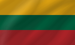 Flag of Lithuania - Wave