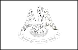 Vlag van Louisiana - A4
