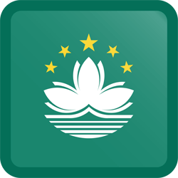 Flagge von Macao Icon - Gratis Download