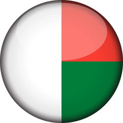 Madagascar flag vector - free download