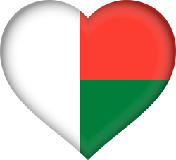 Madagascar flag emoji - free download