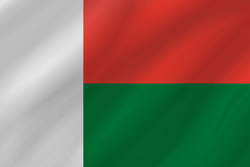 Flagge von Madagaskar Vektor - Gratis Download