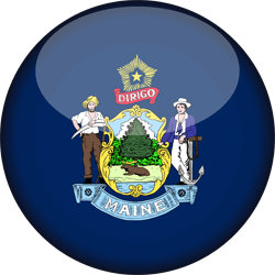 Maine flag image - free download