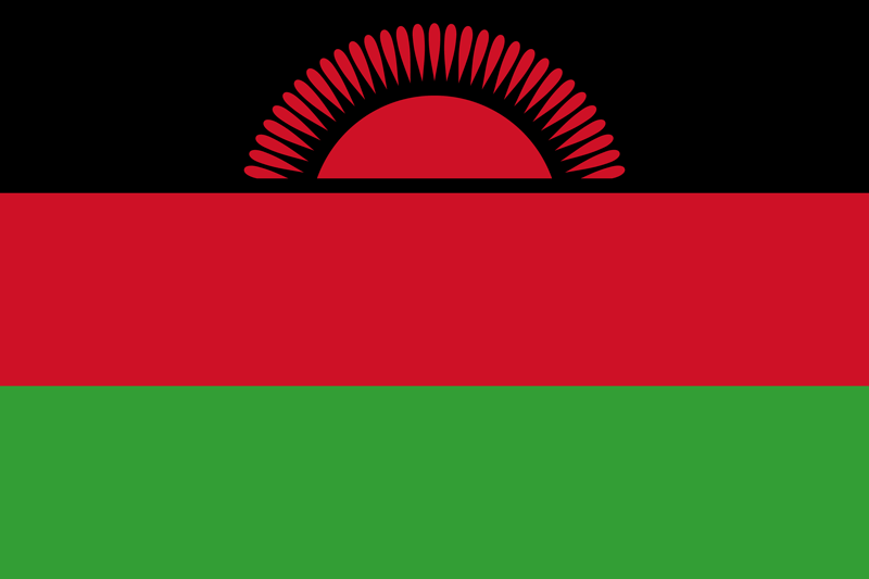 Malawi flag package